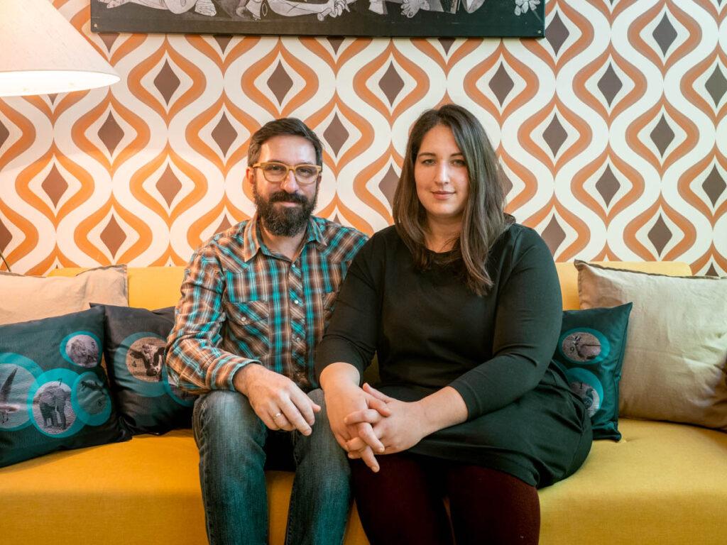 Pia Paulinec und Andreas Dobringer