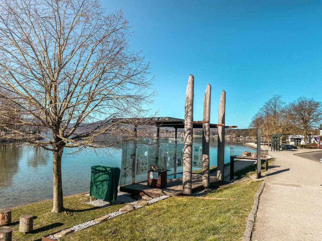 Pfahlbau-Attersee-Seewalchen-Pavillon