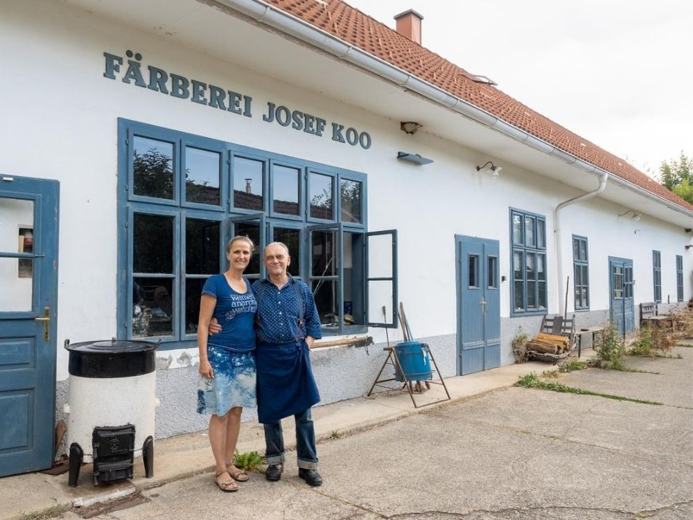 Blaudruck Koo Burgenland